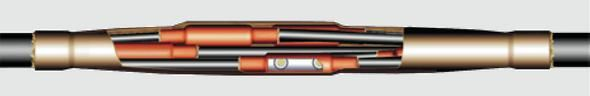 Сполучна муфта 1ПСТп для багатожильного кабелю з пластмасовою ізоляцією на напругу до 1 кВ